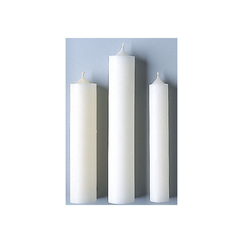 Beeswax Altar Candles: 24 7/8 x1 1/4