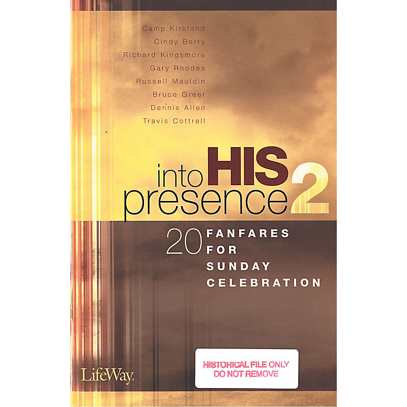 Into His Presence 2 - Orchestration