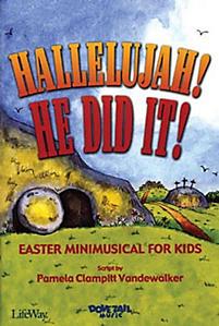 Hallelujah! He Did It! Accompaniment CD (Stereo/Split-track)