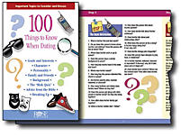 100 Things To Know Before Dating & Marriage: Pamphlet