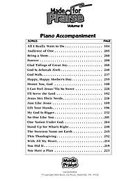 Made for Praise, Vol. 9 - Printed Piano Accompaniment