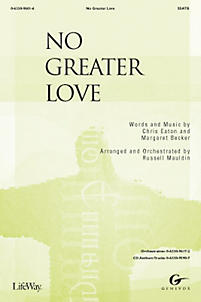 No Greater Love – Orchestration