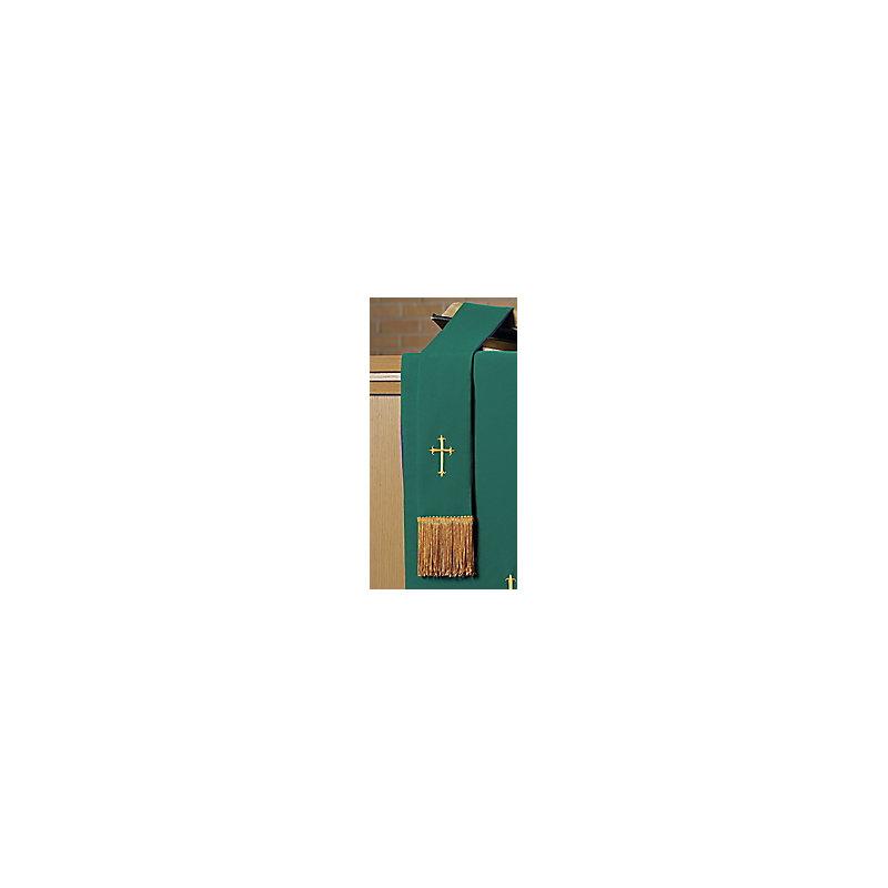 Reversible Paraments Bible Marker - Gabardine Purple/Green