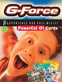 G-Force: Vol 2.1 - PowerCel Cards, Younger Children