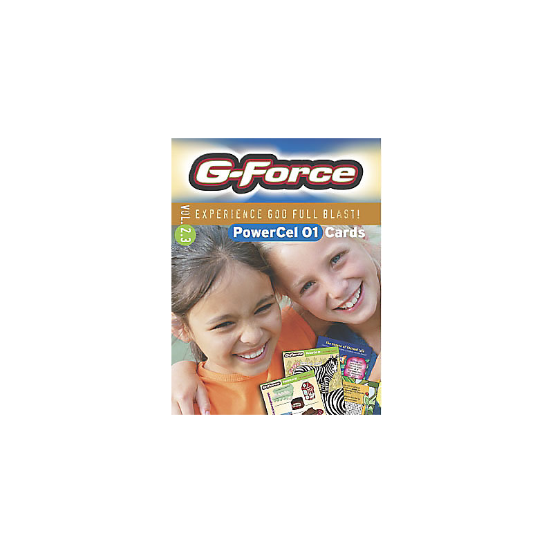 G-Force: Vol 2.3 - PowerCel Cards, Younger Children