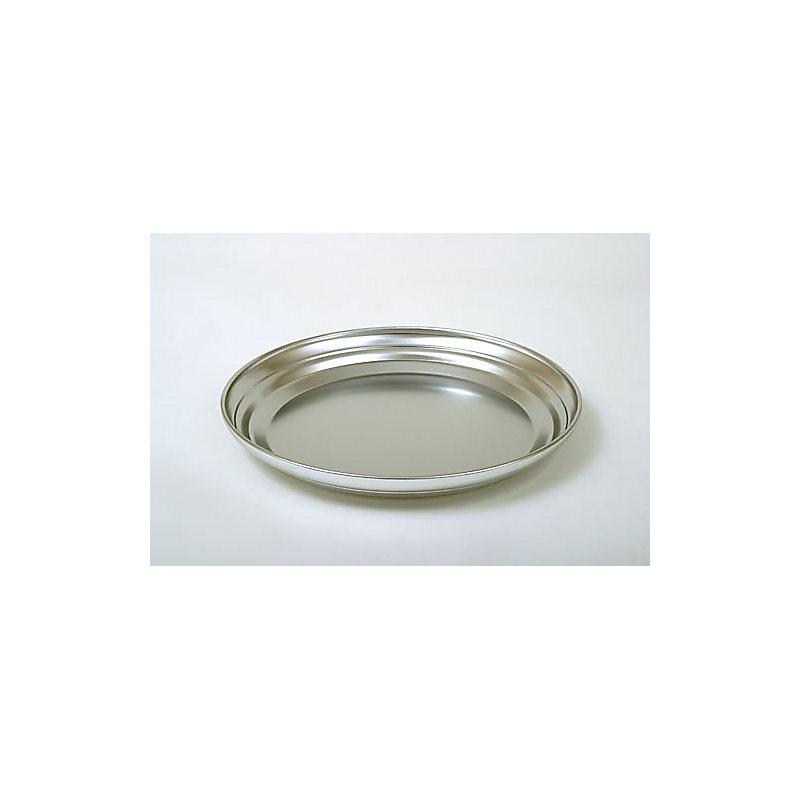 Communion Tray Base: Silvertone Aluminum