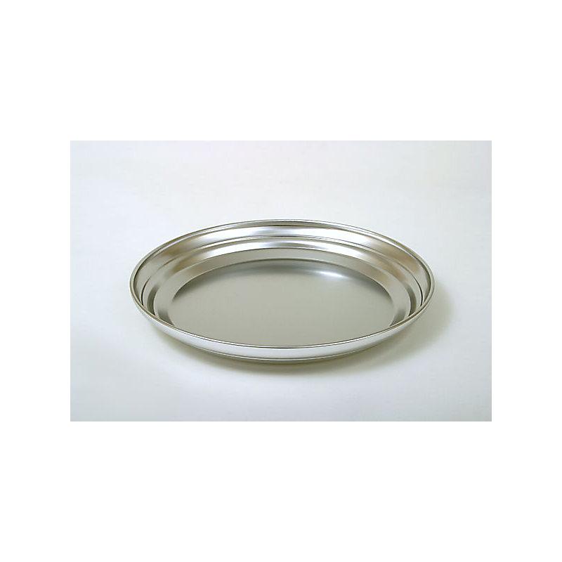Communion Bread Plate Base: Polished Aluminum