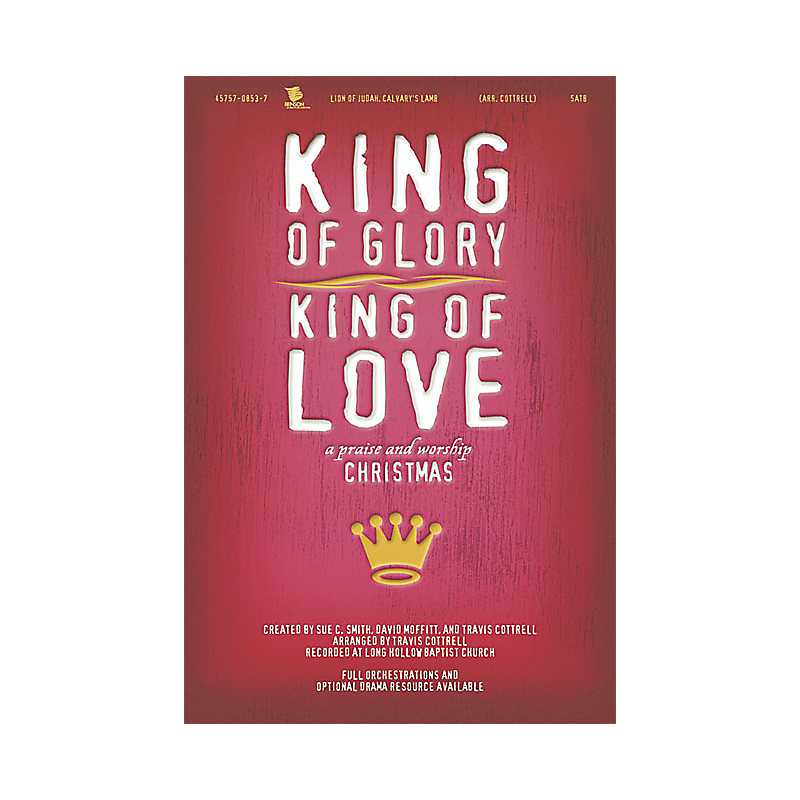 King of Glory, King of Love Listening CD