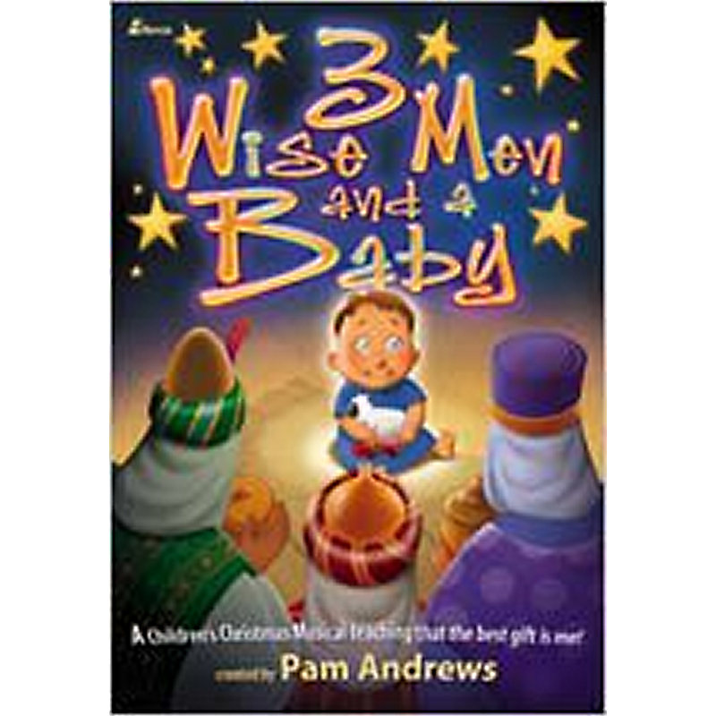 3 Wise Men and a Baby - Choral Book