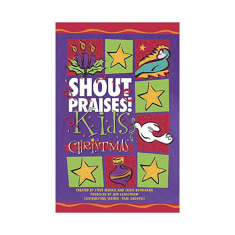 Shout Praises! Kids Christmas Accompaniment CD (Split)
