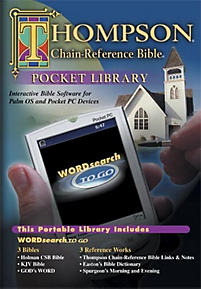 WORDsearch To Go thompson Chain Reference Pocket Bible Library