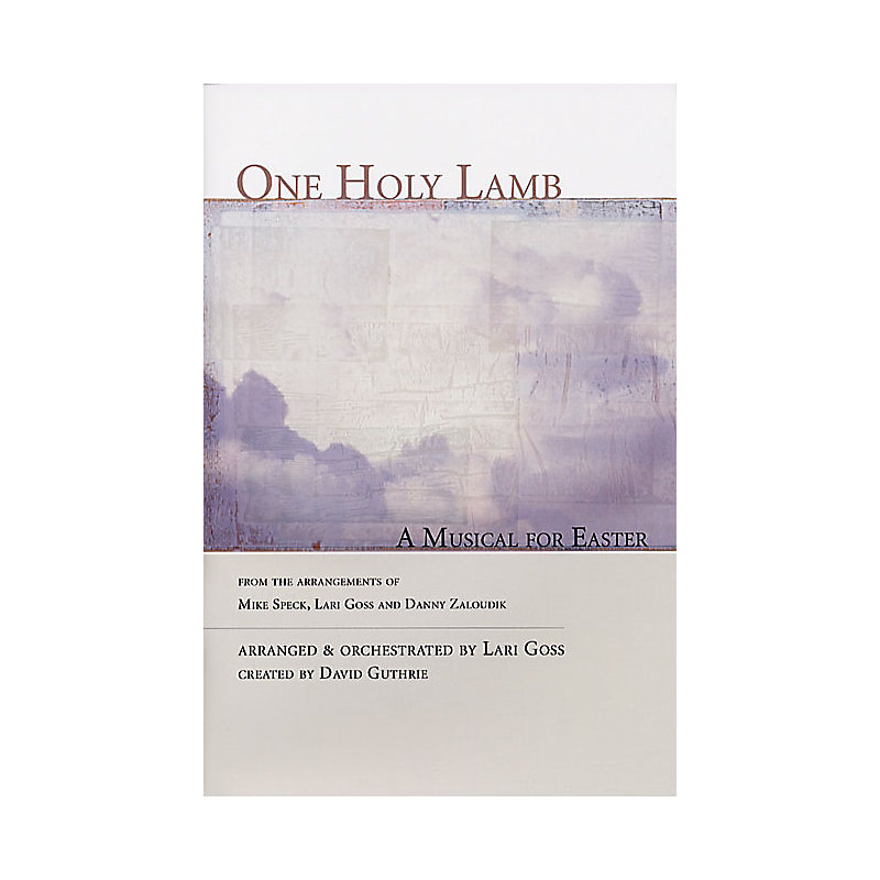 ONE HOLY LAMB LISTENING CD