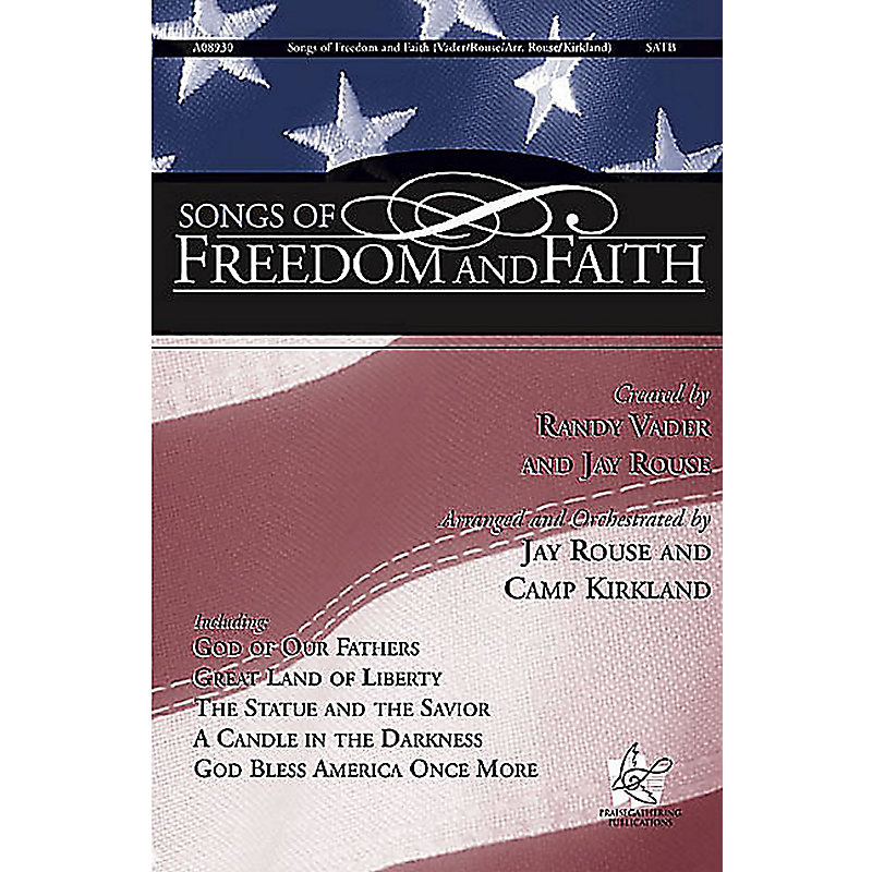 Songs of Freedom and Faith - Listening CD
