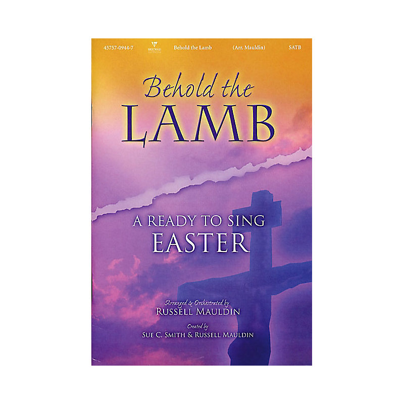 Behold the Lamb: A Ready to Sing Easter Bass Rehearsal CD