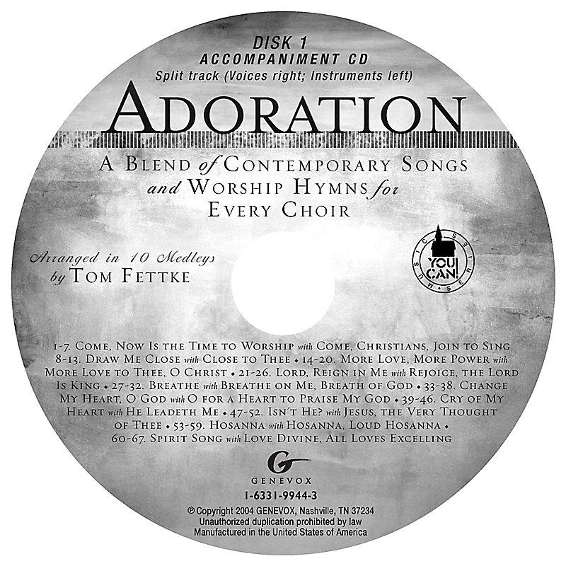 Adoration - Accompaniment CD (Split-Track)