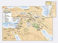 Map: The Rise of the Neo-Babylonian Empire