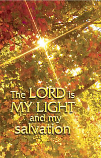 General Worship Bulletin: The Lord Is My Light