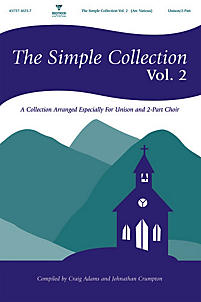 The Simple Collection, Vol. 2 Choral book