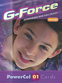 G-Force: Vol 3.1 - PowerCel Cards, Younger Children