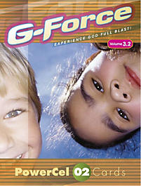 G-Force: Vol 3.2 - PowerCel Cards, Older Children