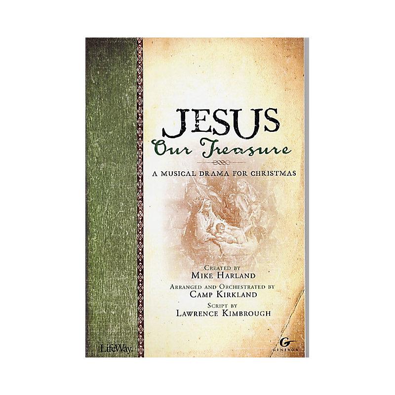 Jesus, Our Treasure - SSATB Choral Book