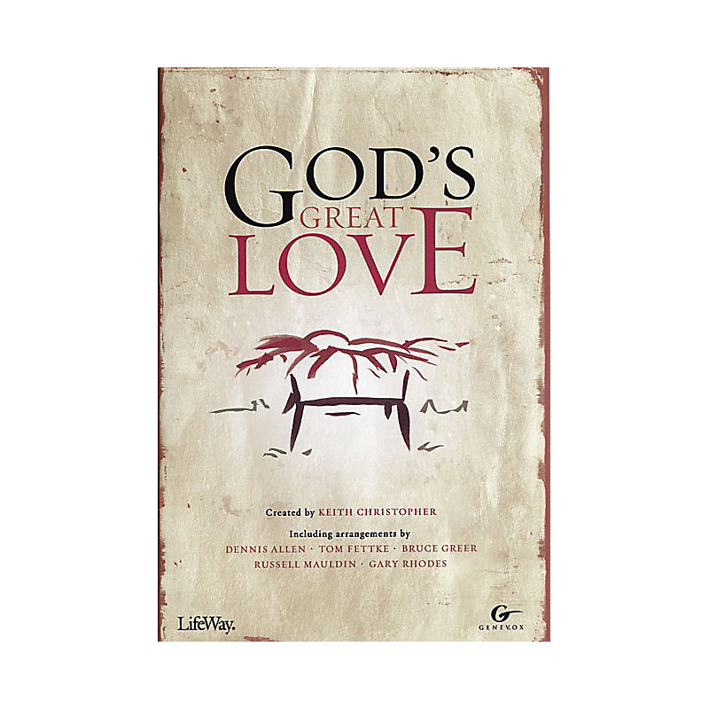 God's Great Love - SATB Choral Book