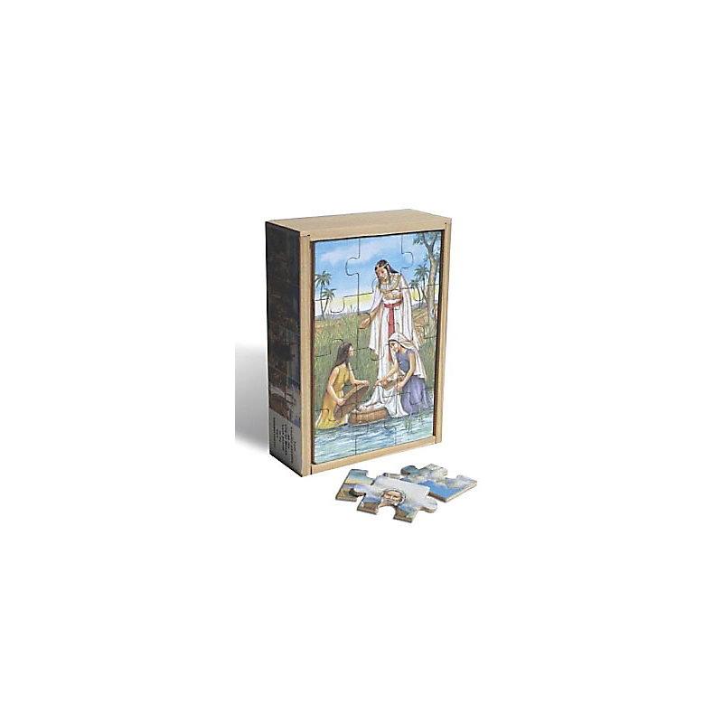 Wooden Box Puzzles: Life of Moses (Set of 4)