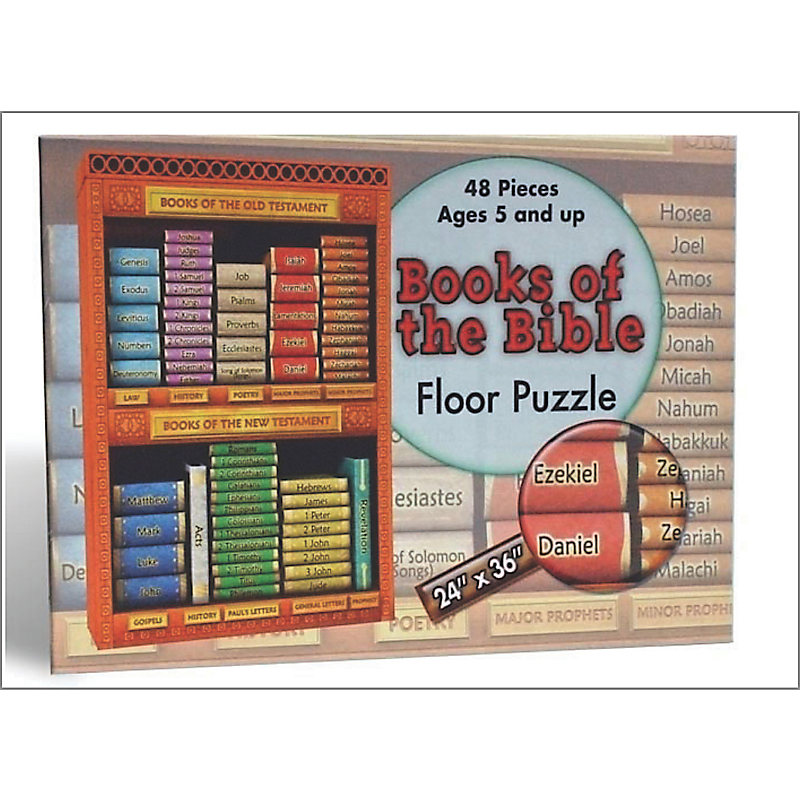 Floor Puzzle: Books of the Bible (5s-Grade 3)