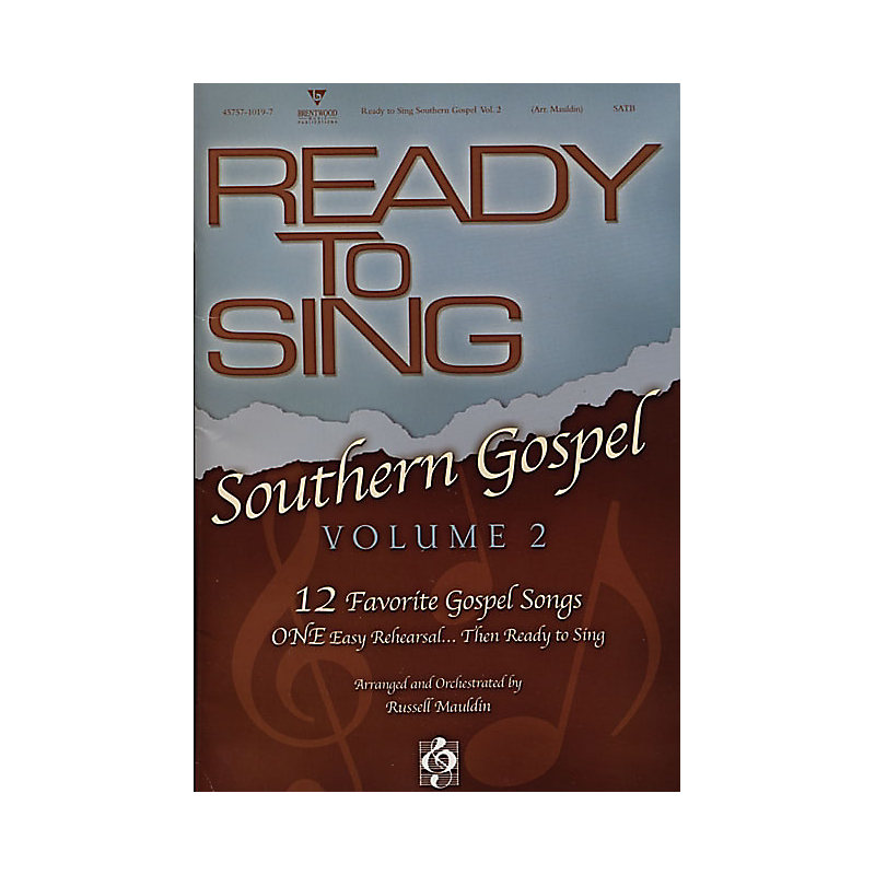Ready to Sing Southern Gospel, Vol.2 CD Preview Pack