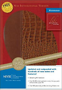 Life Application Study Bible - NIV Revised (Tan/Gator)