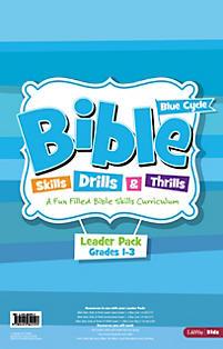 Bible Skills, Drills, & Thrills: Blue Cycle (Grades 1-3) - Leader Pack