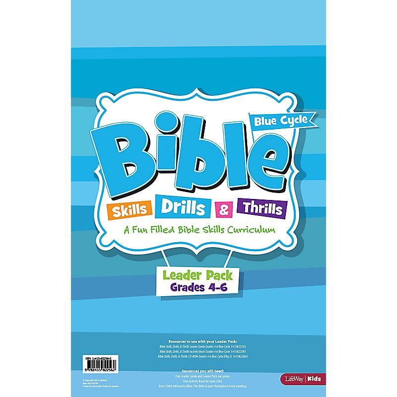 Bible Skills, Drills, & Thrills: Blue Cycle (Grades 4-6) - Leader Pack