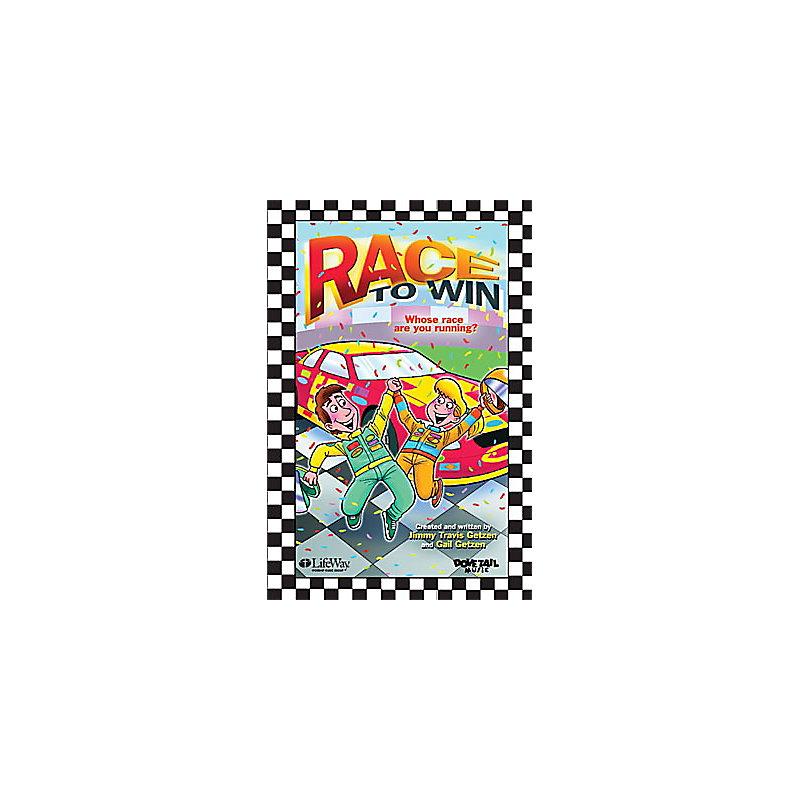 Race To Win - Accompaniment CD (Stereo/Split Track)