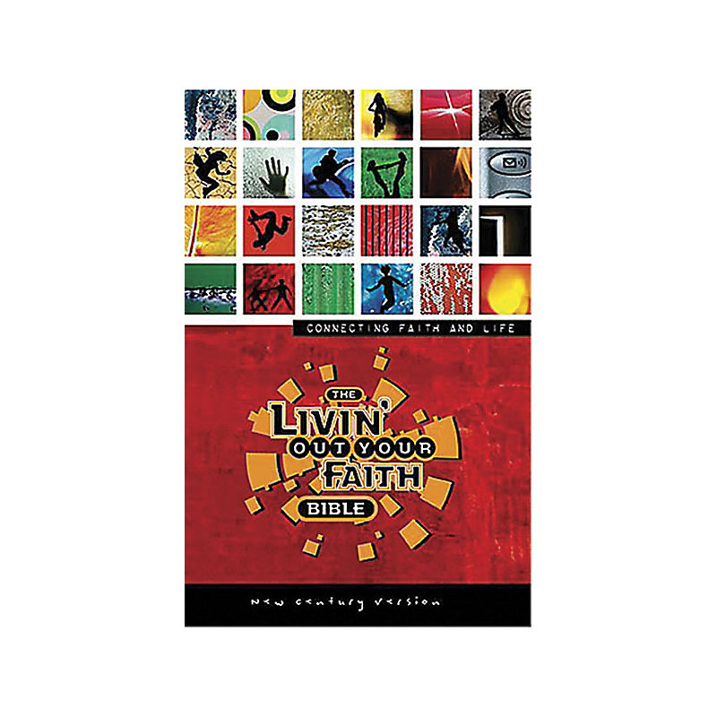 The NCV Livin' Out Your Faith Bible (Multi-Colored)