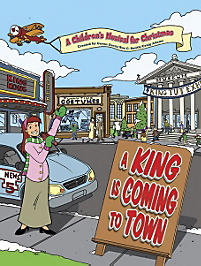 A King is Coming to Town Listening CD