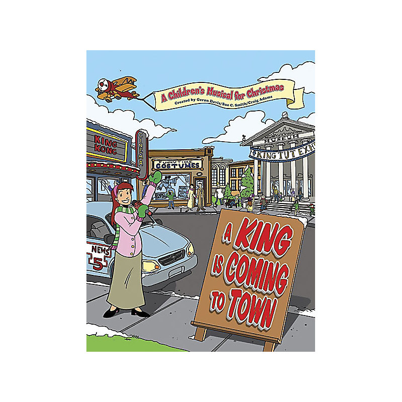 A King is Coming to Town CD Preview Pack