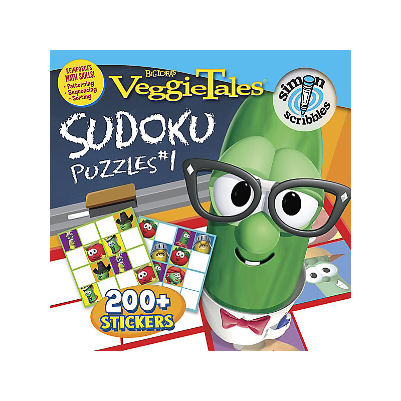 Sudoku Puzzles #1 with Sticker