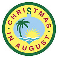Christmas in August Badge