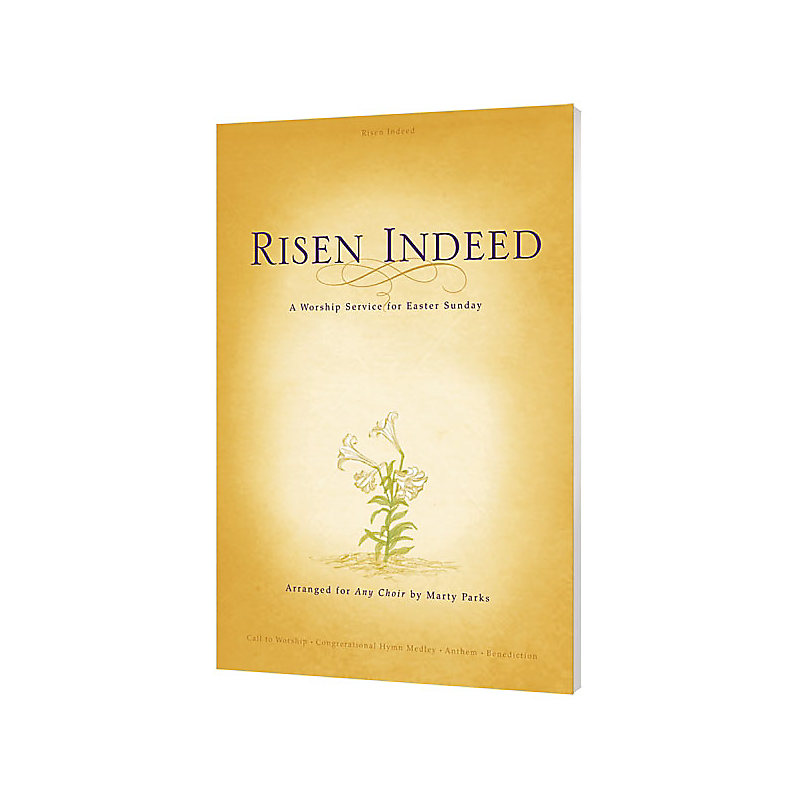 Risen Indeed - Choral Book