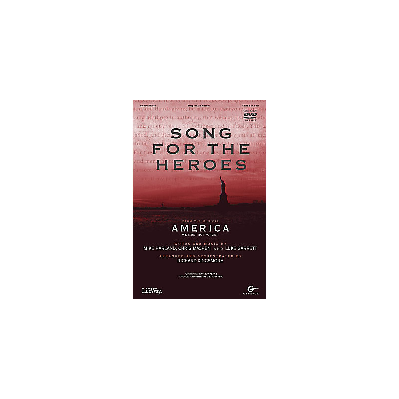 Song for the Heroes DVD with CD Anthem Tracks