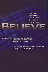 BELIEVE ACCOMPANIMENT CD (SPLIT)
