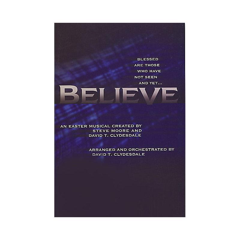 BELIEVE ACCOMPANIMENT DVD