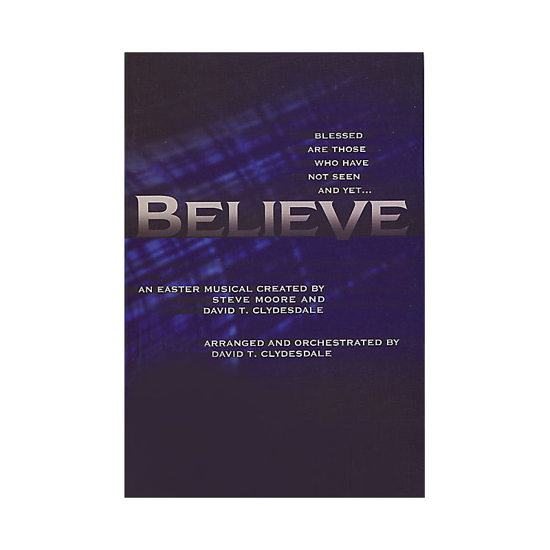 BELIEVE CD PREVIEW PACK