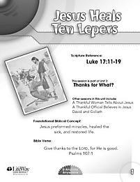 Anytime Anywhere Children Jesus Heals Ten Lepers  LifeWay