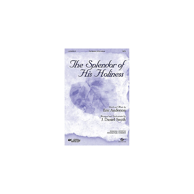 The Splendor of His Holiness - Orchestration