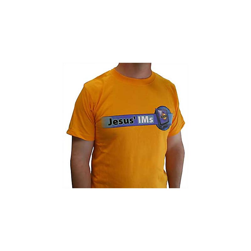 TeamKID Jesus IMs T-Shirt - Gold