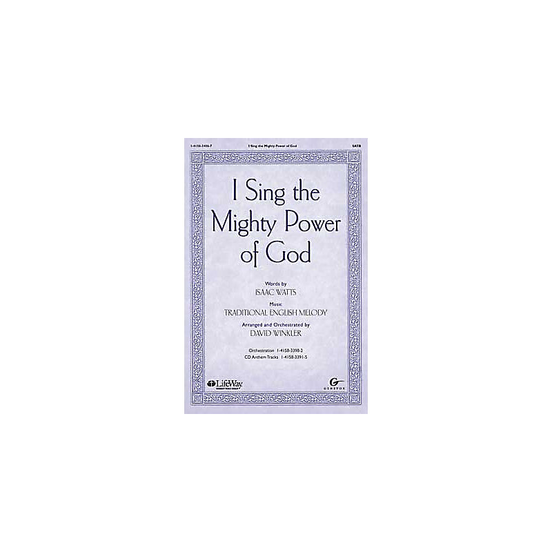 I Sing the Mighty Power of God - Orchestration