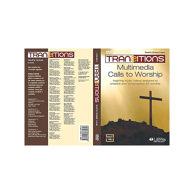 Transitions DVD - God's Great Love