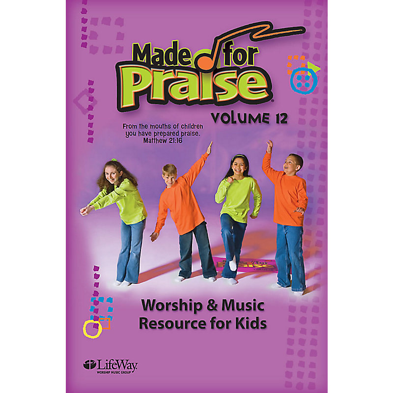 Made for Praise, Vol. 12 - E-Chord Charts (Document Download)