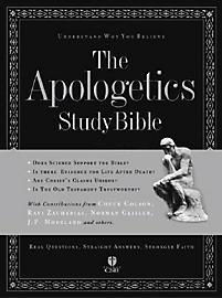 The Apologetics Study Bible: Black